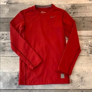 Boys Nike Pro Combat Dri Fit Compression Shirt